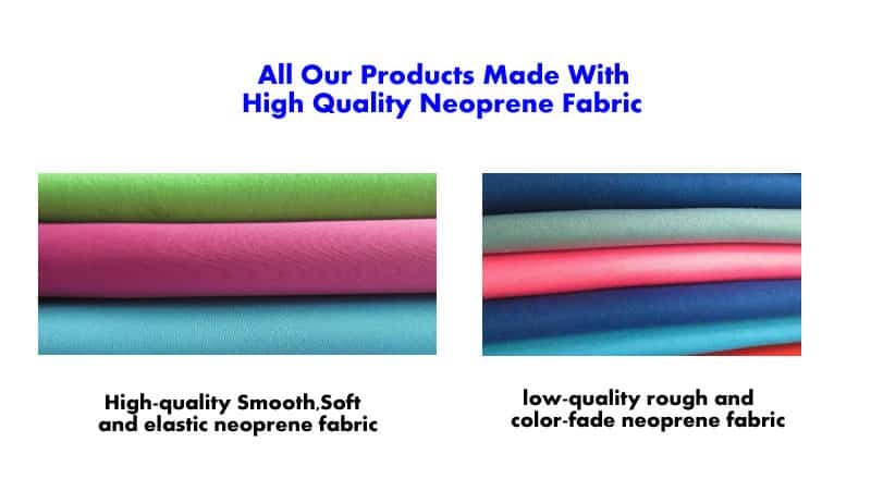 high quality material for neoprene bag