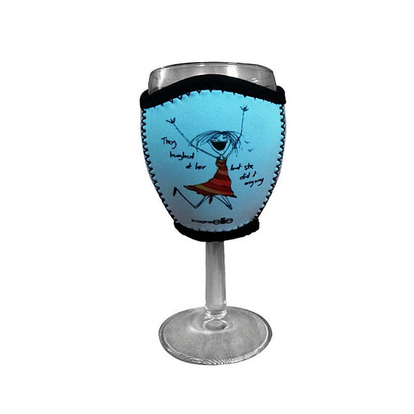 neoprene wine glass koozies
